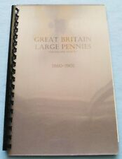 COIN ALBUM FOR GREAT BRITAIN PENNIES 1860-1901