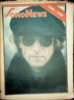 Soho News December 10-16 1980 John Lennon Obituary The Beatles 061620DBE