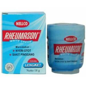 Rheumason White Balm 18g Pain  relieve of lumbago, colds, muscle aches pain