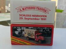 Matchbox Models of Yesteryear GMC 4 Morris u. Mack LKW Sammlertreffen 1989 u. 92