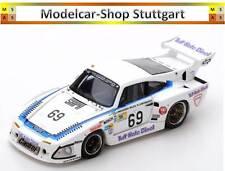 PORSCHE 935 L1 Le Mans 1981 - lundgardh - Wilds - plankenhorn - SPARK 1:43