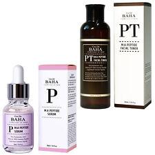 Cos De BAHA Peptide Facial Serum + Toner Matrixyl Argireline Anti Aging Organic
