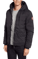Canada Goose Lodge Slim Fit Packable Men's Black Hooded Jacket Size Medium