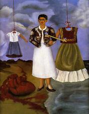 Kahlo Frida Memory Of My Heart  Print 11 x 14  #3775
