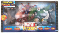 Marvel Legends Spider-Man Fearsome Foes Set NEW Vulture Lizard Rhino Carnage C9+