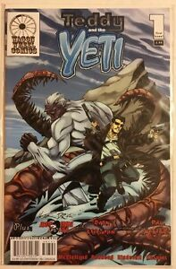 WAGON WHEEL COMICS TEDDY AND THE YETI 1 truth and consequences dec 2009