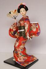 14''/37cm Japanese geisha Asian Doll Hinamutsuri Figurine Girl Beauty Home Decor