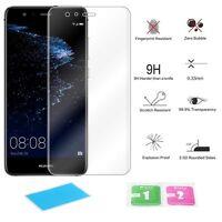 2x Huawei P10 Lite Case Schutz Tasche Cover Display Schutzpanzer Glasfolie Hülle