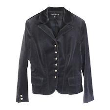 ANNE KLEIN New York Single Breasted Black Blazer - Size 2 S Stretch