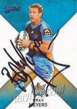 ✺Signed✺ 2011 GOLD COAST TITANS NRL Card BRAD MEYERS