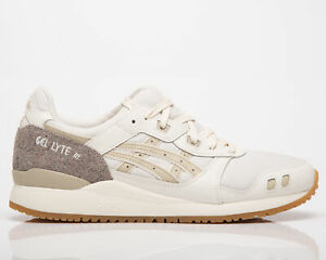 Asics Gel-Lyte III OG Men's Cream Putty Casual Athletic Lifestyle Sneakers Shoes