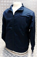 Genuine British MOD Retro PTI Tri Service Tracksuit Jacket Blue All Sizes - NEW