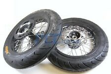 "12"" Complete Motard Wheel Set w/rotor sprocket SDG 107cc 110cc 125CC I WMS03"