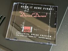 Duran Duran HEAR IT HERE FIRST! Thank You Promo CD 1995 live set People Like You