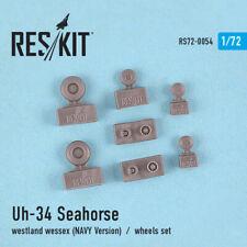 Uh-34 Seahorse / Westland Wessex (NAVY Version) wheels set 1/72 ResKit RS72-0054