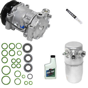 New A/C Compressor and Component Kit 1051438 - 15728631 K1500 C1500 C1500 K1500
