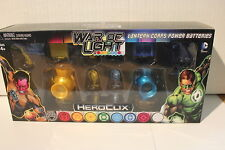 Heroclix DC War of Light #Green Lantern Corps Power Batteries Yellow Blue New