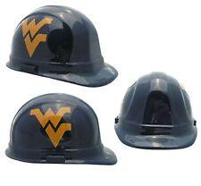 """West Virginia  """"Mountaineers"""" NCAA Football Helmet Hard Hat  ANSI/OSHA Approved"""