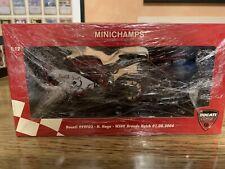 Minichamps Ducati 999 Noriyuki Haga Brands Hatch 2004  L.e. 1001 Pcs 1:12