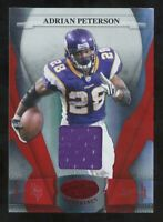 2008 Leaf Certified Materials Adrian Peterson Game Used Jersey #/150 Vikings