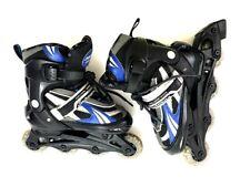 Schwinn Boys Adjustable Inline Skate Black Blue Size 1-4 Xpulse Challenge Series