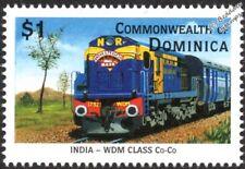 "Northern Railways (India) ALCO WDM Diesel-Electric ""Andhra Pradesh"" Train Stamp"