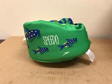 Speedo Safe Splasher Swim Vest Floaters Wear Buckle Children 30-50 lbs Green
