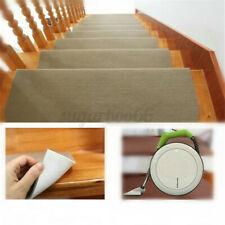 14PCS Non-Slip Stair Tread Carpet Mats Step Staircase Protection Cover Pads Home