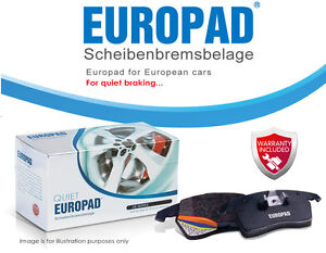 For Mercedes-Benz E 280 LWB [W124] 1993-95 Europad Front Disc Brake Pads DB1320