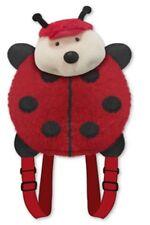 "LADYBUG BACKPACK PET PILLOW ""Plush & Plush"" Brand my animal back pack red lady"