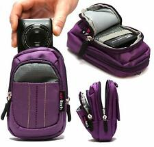 Navitech Purple Camera Case For Kodak PIXPRO FZ152 Camera NEW