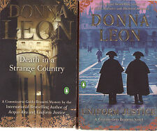Complete Set Series - Lot of 24 Guido Brunetti Mystery books by Donna Leon