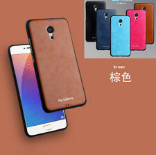 For MEIZU M3 Note 3 Soft Leather 360° Shockproof Business Slim Back Case Cover