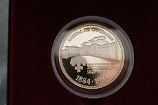 100 YEARS ANNIVERSARY CHICOUTIMI HOSPITAL QUEBEC ONE OUNCE FINE SILVER 999  A706