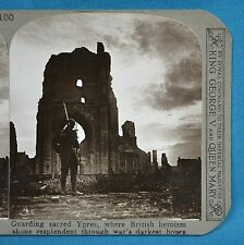 WW1 Stereoview Guarding Sacred Ypres Site Of British Heroism Realistic Travels