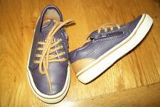 Zara boys-leather trainers/shoes.EU 24/25.Zip.Slightly used.