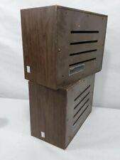 Pair of vintage Ampex 517 fullrange speakers, Made in USA