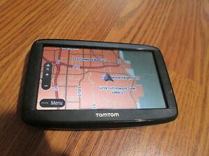 TomTom 4AA53 4AA5.001.00 5-Inch GPS Navigation UNIT ONLY NO ACCESSORIES (TESTED)