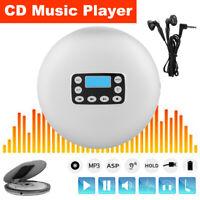 CD711 Mini Portable Stereo CD Music Player MP3 Music Audio Recorder LCD USB CD-R