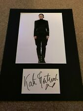 Kate Fleetwood autograph - signed card - Harry Potter - Star Wars