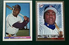 Pair of Tony Gwynn, San Diego Padres Cards