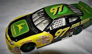 1997 Hot Wheels NASCAR #97 Chad Little John Deere Ford Taurus Diecast Car