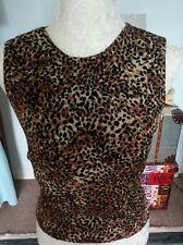 Sassia paris size 1 lepard print