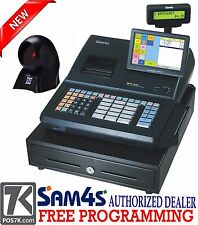 """SAM4S SPS-530 RT 7"""" Touch Screen Cash Register with Scanner SPS-530RT POS"""