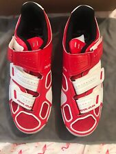 Pearl Izumi Select Rd III Size 40. NIB. Red & White. 2 & 3 Hole Compatible.