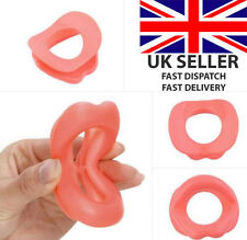 SILICONE ANTI-WRINKLE ANTI-AGEING FACE SLIMMER MUSCLE EXERCISE LIP TRAINER GYM