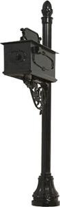 Decorative MB-4 Cast Aluminum Mailbox by Alumina Products, Inc.