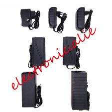 AC100V - 240 V a DC12V 1 A 5 A 10 A Adaptador De Fuente De Alimentación Transformador para LED Tira