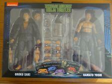NECA 2021 Teenage Mutant Ninja Turtles OROKU SAKI HAMATO YOSHI 2 Pack *IN HAND*2