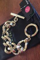 Mimco Brand New Gold Nebula Chain Wrist Bracelet  + Mimco dust bag